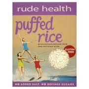 Rude Health Puffed Rice/ Riisimurot, 225 g