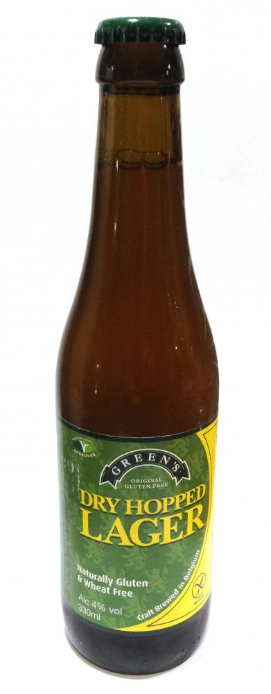 Green's Dry Hopped Lager 4% 33cl