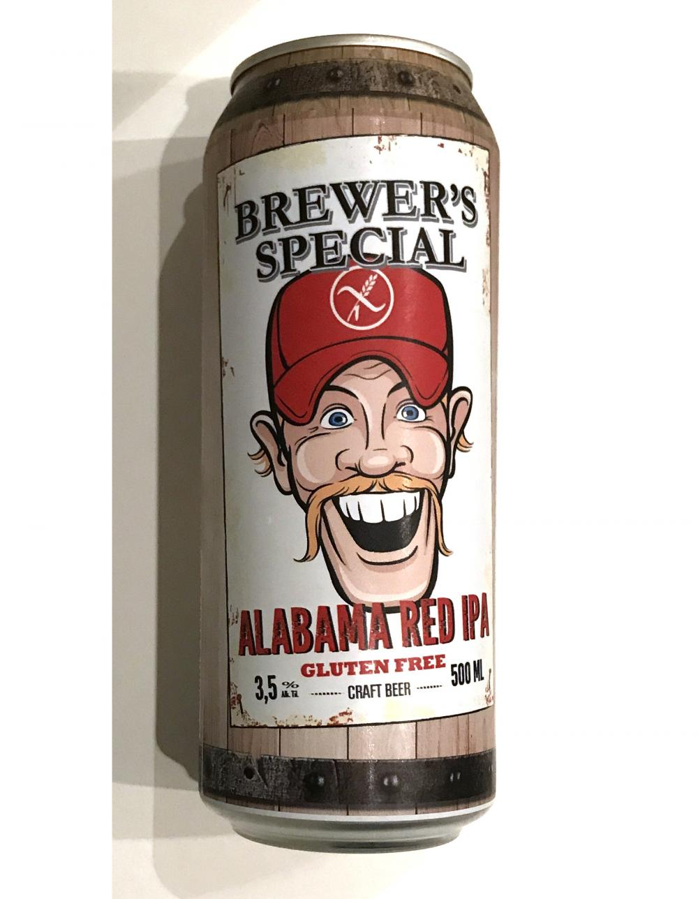 Saimaa Brewing Co Brewer's Special Alabama Red IPA 3.5% 500ml